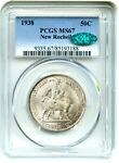 1938 NEW ROCHELLE 50C PCGS/CAC MS67   LOW MINTAGE ISSUE   LOW MINTAGE ISSUE