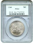 1946 IOWA 50C PCGS MS64  OGH  OLD GREEN LABEL HOLDER   OLD GREEN LABEL HOLDER
