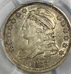 1837 CAPPED BUST DIME JR 1 R4 PCGS XF45  IN THIS GRADE    3 DAY RETURNS
