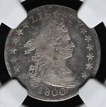 1800 DRAPED BUST DIME NGC VG DETAILS? COIN