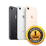 Apple iPhone 8 - 256GB - (Factory GSM Unlocked; AT&T / T-Mobile) 1 Year Warranty