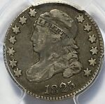 1825  CAPED BUST DIME PCGS VF20 W/ ROTATED REVERSE   NICE