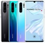 "Huawei P30 Pro 128GB VOG-L29 Dual Sim (FACTORY UNLOCKED) 6.47"" 6GB RAM 40MP"