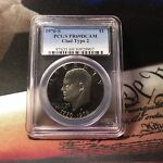 1976 S TY 2 CLAD EISENHOWER $1 PCGS PR 69DCAM NICE BLACK AND WHITE PROOF