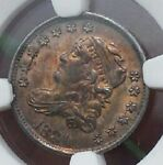 1831 NGC  MS 62 MS62 BUST HALF DIME CERTIFIED CAPPED BUST HALF DIME GREAT COLOR