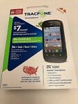 TRACFONE ZTE Valet Z665C No Contract Android Black Phone Brand New Retail LOOK