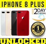Apple iPhone 8 Plus 64GB | 256GB (GSM UNLOCKED) Gray ║ Silver ║ RED  ❖SEALED❖