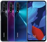 "Huawei Nova 5T YAL-L21 128GB 8GB RAM (FACTORY UNLOCKED) 6.26"" Black Blue Purple"