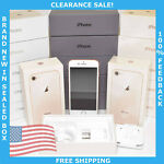 New Apple iPhone 8 64GB Gold (Unlocked) A1905 (GSM) in Sealed Box Clearance Sale