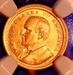 1903 MCKINLEY COMM GOLD $1..NGC AUCLN.. SALE 28OFF BK $650  REDUCED 7/24