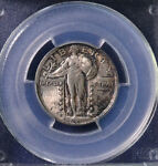 1923 25C STANDING LIBERTY QUARTER UNCIRCULATED PCGS MS 64 25234732
