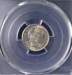1913 10C BARBER DIME UNCIRCULATED PCGS MS 63 83100203