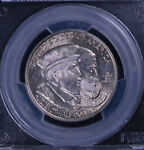1924 50C HUGUENOT COMMEMORATIVE HALF DOLLAR PCGS MS 66 25694906