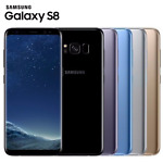 """Samsung Galaxy S8 SM-G950U 64GB 5.8"""" Factory Unlocked 4G LTE Android Mobile"""