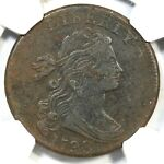 1798 S 167 NGC XF DETAILS DRAPED BUST LARGE CENT COIN 1C