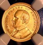 1903 MCKINLEY COMM GOLD $1..NGC AUCLN.. SALE 24 OFF  REDUCED 1/5