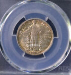 1917 S 25C STANDING LIBERTY QUARTER TYPE 2 UNCIRCULATED PCGS MS 65 32716617