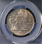 1935 50C CONNECTICUT COMMEMORATIVE HALF DOLLAR UNCIRCULATED PCGS MS 66 83068135
