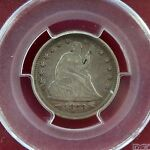 1873 SEATED LIBERTY QUARTER PCGS VF35 ARROWS
