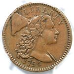 1794 S 60 PCGS VF 35 HEAD OF 94 LIBERTY CAP LARGE CENT COIN 1C