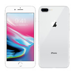 Apple iPhone 8 Plus 64GB Silver Unlocked Good Condition