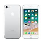 Apple iPhone 7 128GB Silver Unlocked Mint