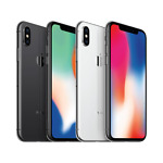 Apple iPhone X (10) - 64GB / 256GB - Space Gray / Silver (AT&T / Cricket / H2O)