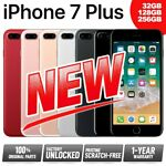 (NEW) Factory Unlocked APPLE iPhone 7 Plus 7+ 32GB 128GB 256GB
