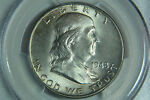 1948 FRANKLIN HALF DOLLAR PCGS MS64 FBL TONED