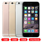 NEW Apple iPhone 6 16GB 64GB 128GB GSM CDMA Factory Unlocked AT&T T-Mobile Phone