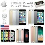 New Apple iPhone 5C/5S/SE/6/6s Plus All Models CDMA+GSM Unlocked Smartphones
