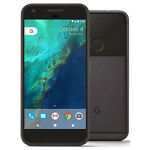 "Google Pixel XL 5.5"" Android 7.1 128GB Quite Black Unlocked Smartphone HH"
