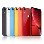 Apple iPhone XR - 64GB - (T-Mobile) A1984 - Black Red - Excellent