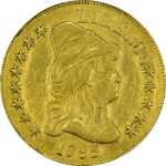 1799 PCGS XF DETAILS DRAPED BUST $10   SMALL STARS OBVERSE   REPAIRED
