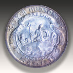1935 HUDSON COMMEMORATIVE HALF DOLLAR PCGS MS 66