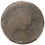 1793 S 3 R3  PCGS FR02 CHAIN LARGE CENT COIN 1C