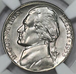 1953 S JEFFERSON NICKEL NGC MS66 FRESH GRADED FROM ORIGINAL ROLL GEM    PQ   I1