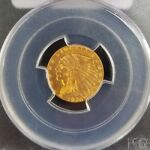 1926 $2.5 INDIAN HEAD GOLD PIECE  GRADED: PCGS MS 63   1 OF 2