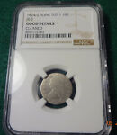 1824 BUST DIME JR 2 POINTED TOP 1 NGC GOOD DETAILS CLEANED