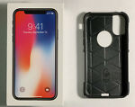 New Apple iPhone X 256GB Space Gray LTE Cellular AT&T MQAM2LL/A + Bonus