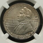1928 HAWAII COMMEMORATIVE HALF DOLLAR NGC CERTIFIED UNC DETAILS