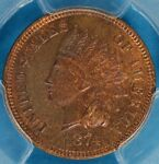 1874 INDIAN HEAD CENT PCGS MS64BN  SHARP NICE PATINA EYE APPEAL