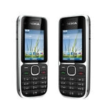 Nokia C2-01 Black Unlocked GSM QuadBand 3G Bar Cell Phone- Hebrew Menu
