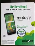 CRICKET WIRELESS MOTO G6 FORGE PREPAID CELL PHONE Brand New
