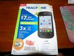 ZTE Valet Z665C - 4GB - Black (TracFone) Smartphone Opened Box