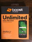 "Boost Mobile Prepaid Moto g6 Play 5.7"" HD Display 13MP Camera Brand New Sealed"