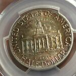 1946 IOWA COMMEMORATIVE PCGS MS65 NEAT TONING FRESHLY SLABBED BY CHN