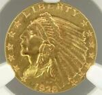 NGC MS63 1928 $2.5  2 1/2 DOLLAR  INDIAN GOLD COIN S1151