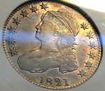 1821 BUST HALF ANACS XF40 OLD HOLDER BEAUTY PRICE REDUCED CHN