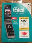 TOTAL WIRELESS ZTE CYMBAL T 4G Prepaid Flip Touchscreen Smartphone BRAND NEW